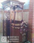 Podium Mimbar Ukiran Arabic Mebel Jepara