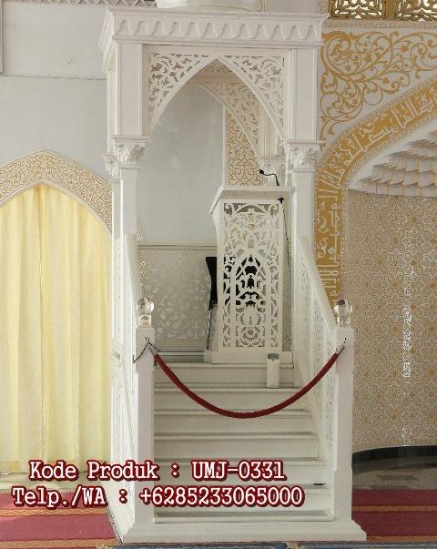 Mimbar Masjid Atap Kubah Duco Klasik