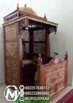 Mimbar Kayu Sederhana Furniture Jepara