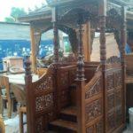 Mimbar Kayu Minimalis Arabic Furnitur Jepara