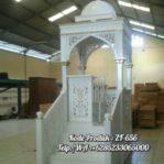 Mimbar Masjid Classic Mewah Furniture Jepara
