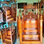 Mimbar Jati Klasik Mewah Furniture Jepara