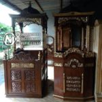 Mimbar Masjid Classic Mewah Meubel Jepara
