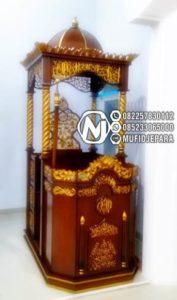 Mimbar Podium Classic Mewah Mebel Jepara