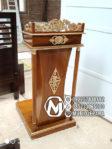 Podium Mimbar Klasik Mewah Furniture Jepara