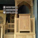 Podium Mimbar Ukiran Arabic Furniture Jepara
