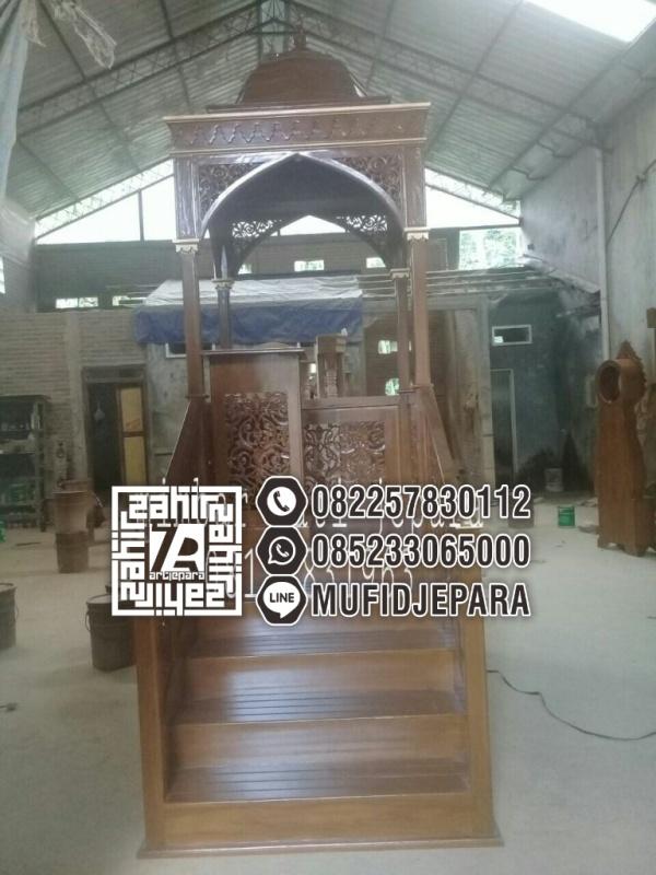 Mimbar Podium Minimalis Masjid