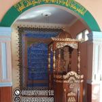 Desain Mimbar Jati Jepara Masjid Di Bandung