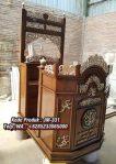 Podium Mimbar Minimalis Pesanan Masjid Tuban