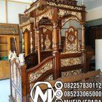 Mimbar Jati Klasik Mewah Pesanan DKM Masjid Agung Caruban