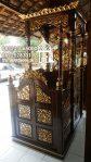 Mimbar Kayu Sederhana Pesanan Masjid Ciruas