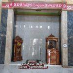 Mimbar Kayu Ukir Klasik Jepara Pesanan DKM Masjid Agung Sumedang
