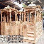 Mimbar Kubah Atap Kubah Pesanan DKM Masjid Tegal