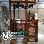 Mimbar Kubah Sederhana Pesanan DKM Masjid Rangkasbitung