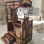 Model Mimbar Jati Jepara Masjid Di Brebes