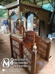 Mimbar Podium Sesuai Sunnah Pesanan DKM Masjid Nganjuk
