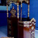 Mimbar Podium Ukiran Mewah Pesanan DKM Masjid Purworejo