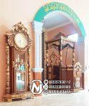 Mimbar Jati Kaligrafi Arabic Pesanan Masjid Palu