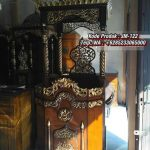 Mimbar Podium Khutbah Ukiran Kaligrafi Atap Kubah Masjid Agung Pacitan