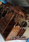 Mimbar Kayu Ukiran Kaligrafi Pesanan Masjid Agung Kendal