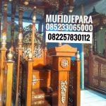 Mimbar Jati Sederhana Pesanan DKM Masjid Kuningan