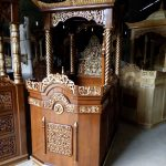 Mimbar Kubah Minimalis Pesanan Masjid Agung Slawi