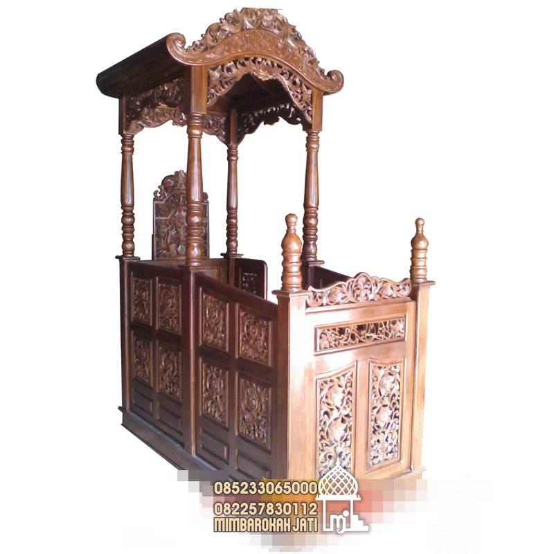 Bentuk Motif Mimbar Masjid