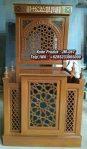 Mimbar Meja Podium Masjid Di Banten