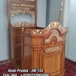 Mimbar Kayu Standar Masjid Di Pekalongan