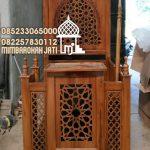 Mimbar Jati Minimalis Masjid Di Semarang