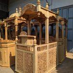 Mimbar Kayu Standar Masjid Di Banten