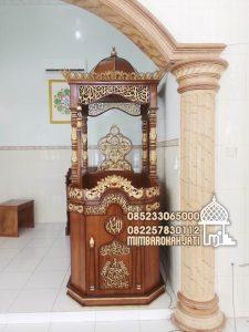 Mimbar Kayu Standar Masjid Di Jakarta