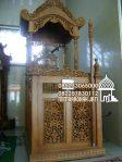 Desain Mimbar Kayu Standar Masjid Di Pekalongan