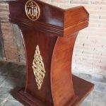 Mimbar Kayu Standar Masjid Di Semarang