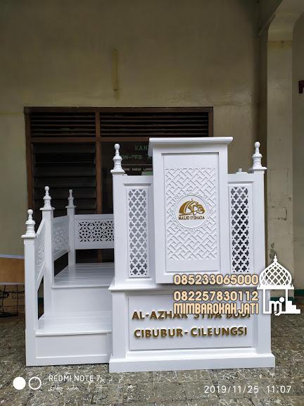 Mimbar Meja Podium Masjid Di Bandung