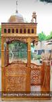Mimbar Ukir-ukiran Masjid Di Cikarang