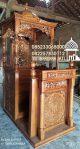 Mimbar Ukir-ukiran Masjid Di Pekalongan