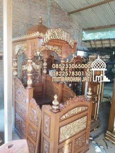 Mimbar Ukiran Masjid Di Bandung