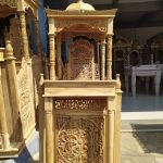 Mimbar Ukiran Masjid Di Sukabumi