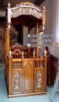 Mimbar Jati Minimalis Masjid Di Banten