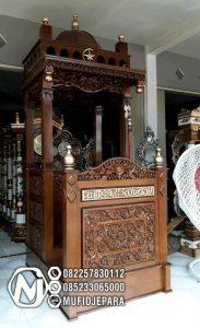 Mimbar Kayu Standar Masjid Di Bogor
