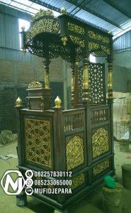 Mimbar Jati Jepara Masjid Di Kota