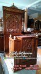 Mimbar Ukir-ukiran Masjid Di Cirebon