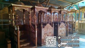 Mimbar Kayu Standar Masjid Di Depok