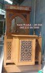Mimbar Ukiran Masjid Di Bekasi