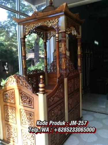 Mimbar Jati Jepara Masjid Di Brebes Pantura