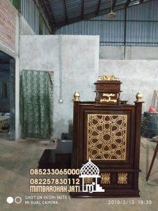 Mimbar Jati Jepara Masjid Di Bandung
