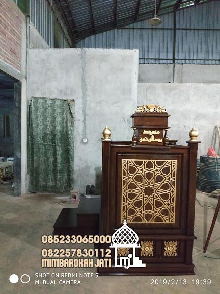 Jual Mimbar Jati Jepara Masjid Di Bandung