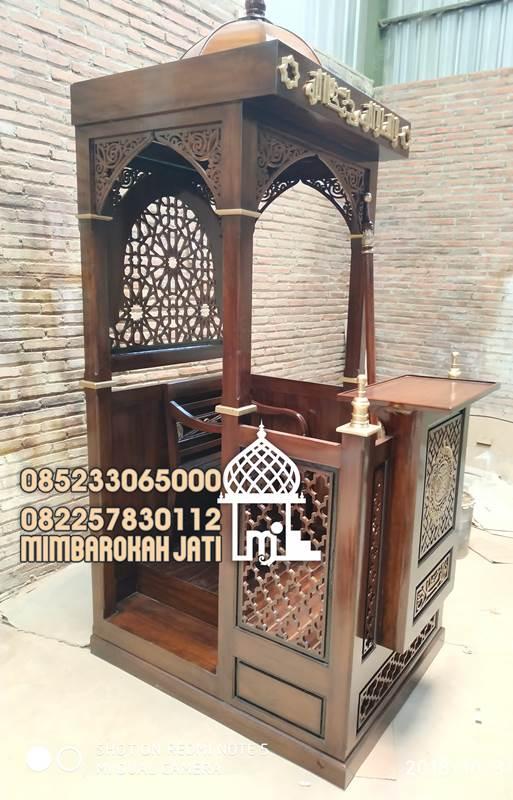 Mimbar Jati Jepara Masjid Di Banten