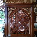 Mimbar Jati Jepara Masjid Di Sukabumi